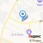 Дюрсо на карте Новороссийска