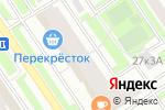 Схема проезда до компании Четыре лапы в Москве