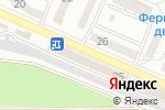 Схема проезда до компании Пропеллер в Новороссийске