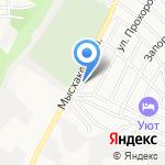 Акватика на карте Новороссийска