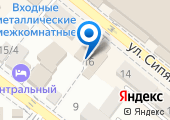 Садовый магазин на карте