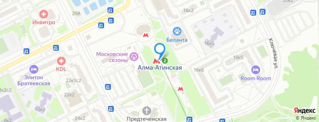метро Алма-Атинская