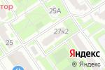 Схема проезда до компании Хогарт в Москве