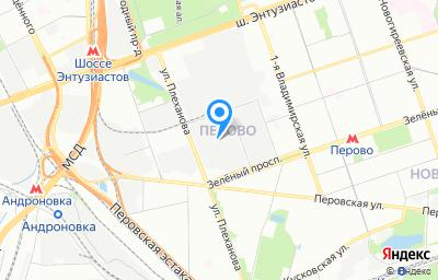 Местоположение на карте пункта техосмотра по адресу г Москва, ул Плеханова, д 13 стр 13