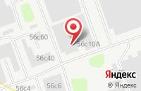 Схема проезда до компании Верона Альта в Москве