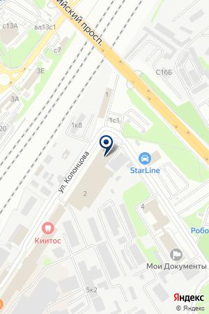 GREEN CARD SERVICE CENTER на карте Мытищ