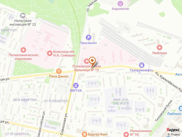 Остановка Ставропольская ул., 54 в Москве
