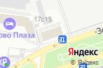 Схема проезда до компании Убежище №1 в Москве