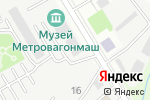Схема проезда до компании Medical On Group в Мытищах