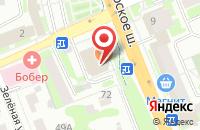 Схема проезда до компании Мясной Союз в Домодедово