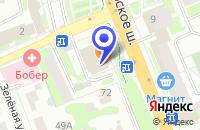 Схема проезда до компании ПАРИКМАХЕРСКАЯ ПРЕСТИЖ в Домодедово