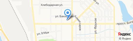 Детский сад №51 на карте Донецка