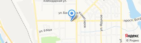 Space на карте Донецка