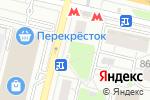 Схема проезда до компании Город цветов в Москве