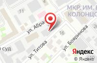 Схема проезда до компании Комтех-Сервис в Мытищах