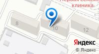 Компания Тесла на карте
