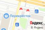 Схема проезда до компании Авента в Москве