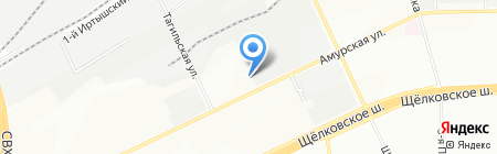 Юкка на карте Москвы