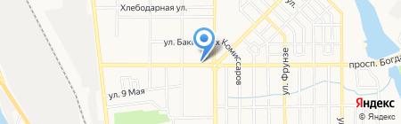 Фасон на карте Донецка