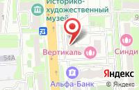 Схема проезда до компании МВком в Домодедово