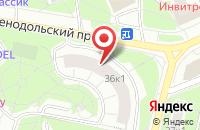 Схема проезда до компании Формула Рукоделия в Москве