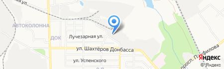 СВ-Пласт на карте Донецка