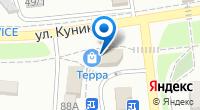 Компания Терра на карте