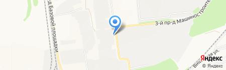 Завод Строительных Материалов на карте Старого Оскола