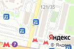 Схема проезда до компании Максимус в Москве
