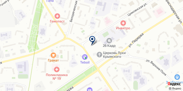 VAG-LINE на карте Москве