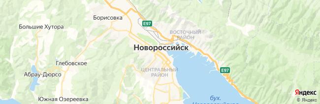 Новороссийск на карте