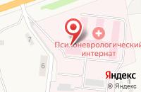 Схема проезда до компании Торховский психоневрологический интернат в Торхово