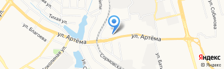 Женская консультация на карте Донецка