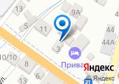 Золотая Соя Кубани на карте