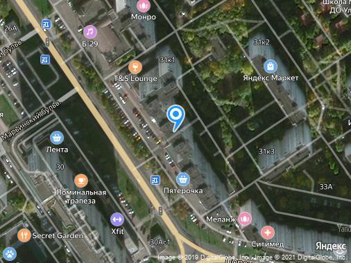 Сдаем 1-комнатную квартиру, 42 м², Москва, улица Братиславская, 31к1