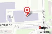 Схема проезда до компании Мервинлайн в Москве