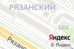 Схема проезда до компании Пицца в Москве