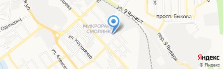 СТМ-металл на карте Донецка