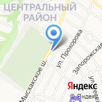 К & К на карте Новороссийска