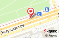 Схема проезда до компании Ск Юго-Восток в Москве