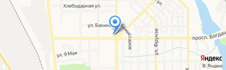 Аптека №1 на карте Донецка