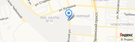 Лисар-Дон на карте Донецка