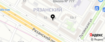 Лого-Авто на карте Москвы