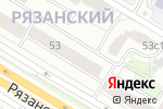 Схема проезда до компании Чикаго в Москве