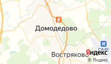 Хостелы города Домодедово на карте