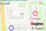 Схема проезда до компании Мособлстройтрест №11, ЗАО в Домодедово