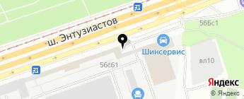 Suv-and-Truck на карте Москвы