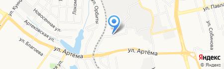 Дейта-Экспресс на карте Донецка