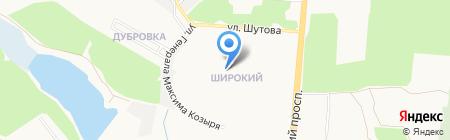Донецкая техническая школа на карте Донецка