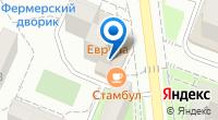 Компания Европа на карте